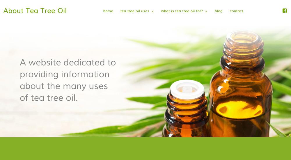 About Tea Tree Oil